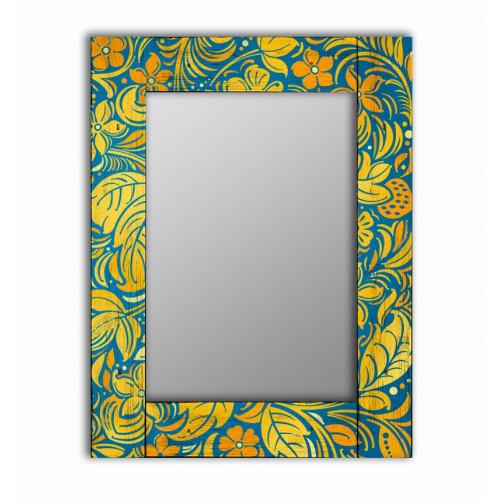 Настенное зеркало в раме Лето