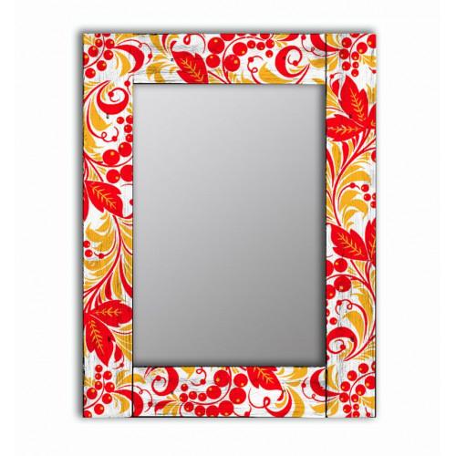 Настенное зеркало Рябина