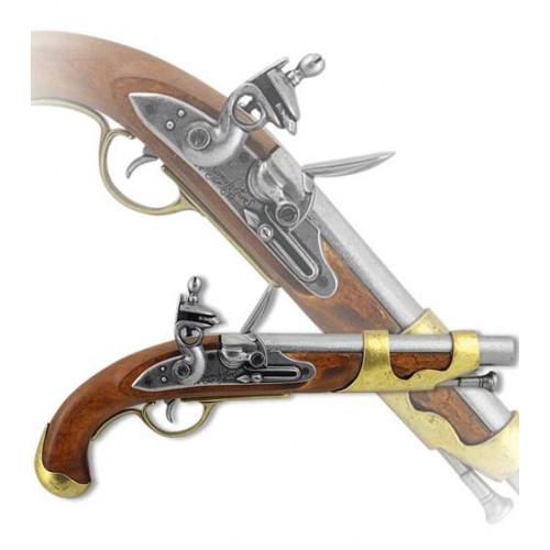 Пистоль французской кавалерии, 1800 г.