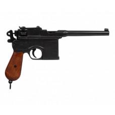 Макет пистолета Маузер, деревянная рукоятка