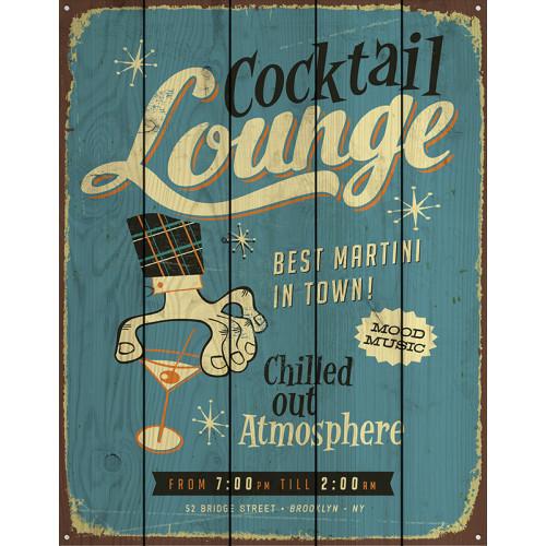 Картина на досках Коктейль Lounge