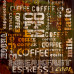 Картина на досках Кофе