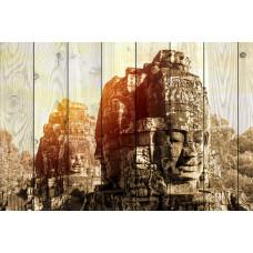 Картина на дереве Ангкор Том