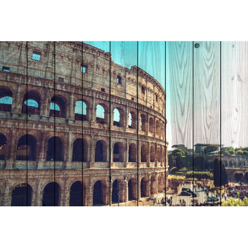Картина на досках Колизей