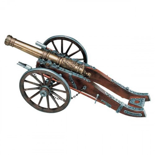 Пушка декоративная, Франция XIV в.