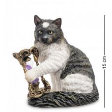 """Статуэтка """"Кот с песочными часами"""""""