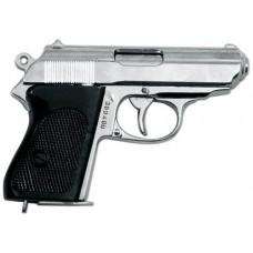 """Пистолет """"Ваффен-SSPPK"""", Германия, хром"""