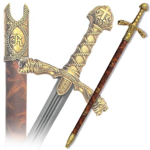 Меч Ричарда Львиное Сердце, в ножнах, 12 век