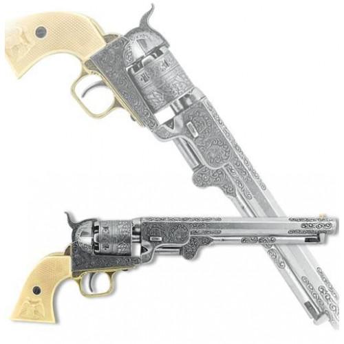 Револьвер США, 1851 г., хром