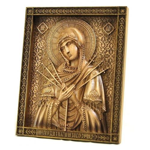 Икона Божией Матери Семистрельная, малая