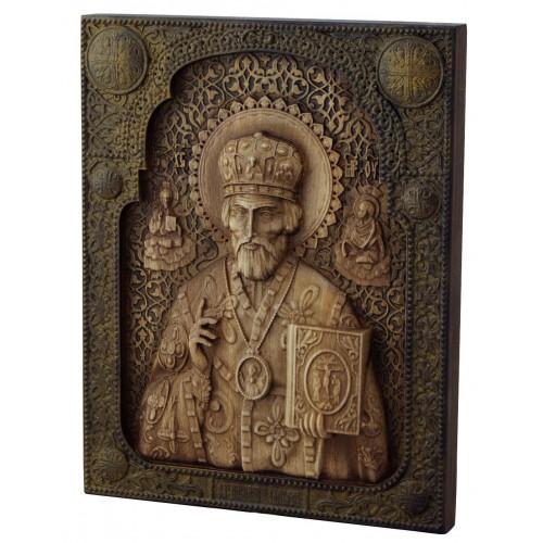 Икона Николай Чудотворец, малая