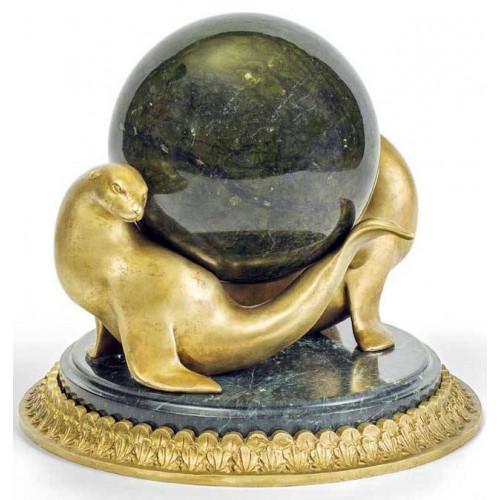 Скульптура «Морские котики»