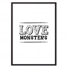 Love monsters (ВЫБОР РАЗМЕРА-21 х 30 см)