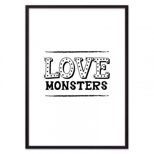 Love monsters (ВЫБОР РАЗМЕРА-40 х 60 см)