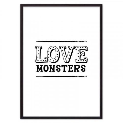 Love monsters (ВЫБОР РАЗМЕРА-50 х 70 см)