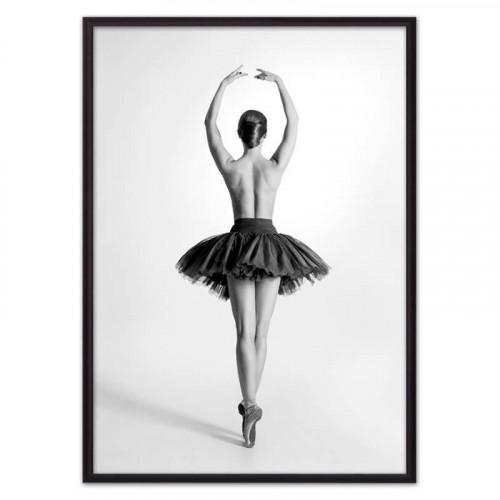 Балерина спиной (ВЫБОР РАЗМЕРА-40 х 60 см)