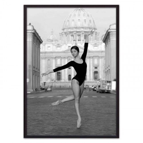 Балерина в городе (ВЫБОР РАЗМЕРА-21 х 30 см)