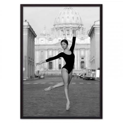 Балерина в городе (ВЫБОР РАЗМЕРА-40 х 60 см)