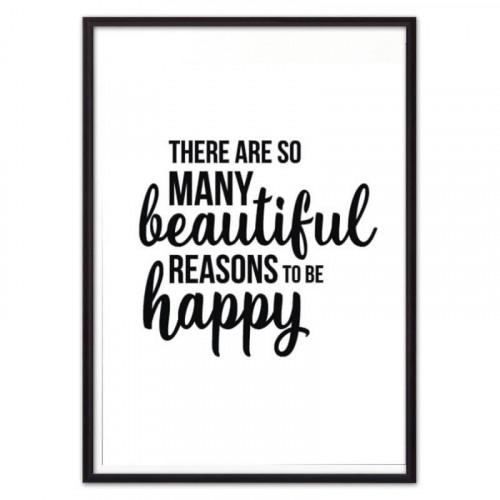 To be happy (ВЫБОР РАЗМЕРА-50 х 70 см)