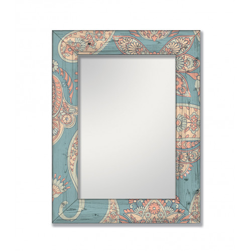 Зеркало настенное в раме Пейсли