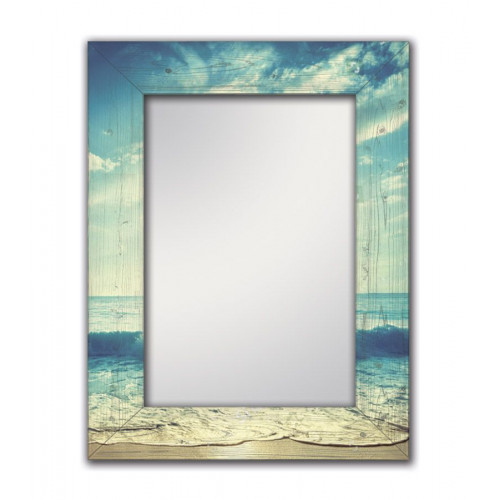 Настенное зеркало Море
