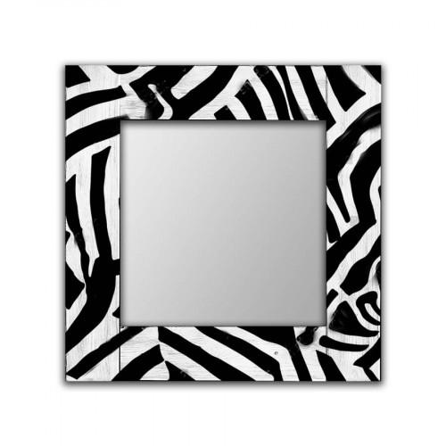 Настенное зеркало Зебра