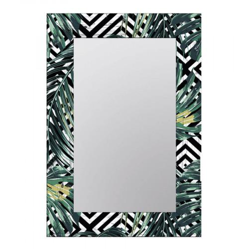 Настенное зеркало в раме Пальмовые листья