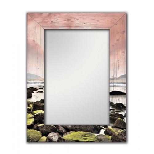 Настенное зеркало Морской закат
