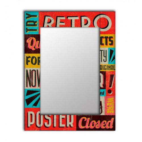Декоративное зеркало Ретро