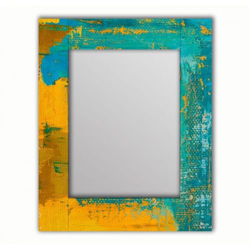 Настенное зеркало Гранж Блю