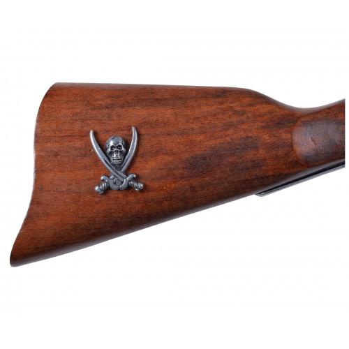 Пистоль французских пиратов, XVIII век
