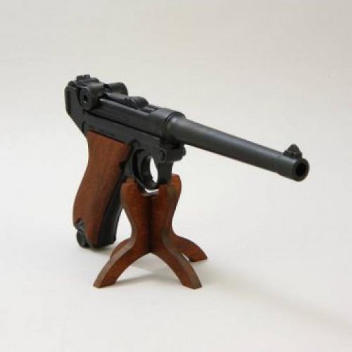 Точная полноразмерная ММГ копия-макет пистолета Люгер Р08