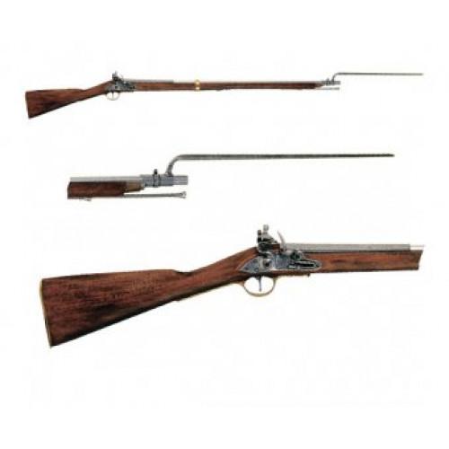 Ружье со штыком, Испания-Англия, XVIII век