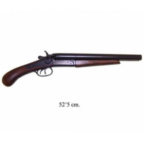 Двуствольное укороченное ружье, США, 1881 г.